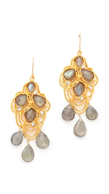 Alexis Bittar Cordova Lace Drop Earrings
