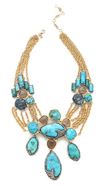 Alexis Bittar Cordova Chrysocolla Necklace