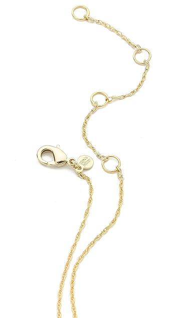 Alexis Bittar Cordova Turquoise Pendant Necklace