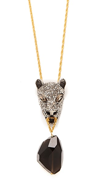 Alexis Bittar Cordova Jaguar Necklace