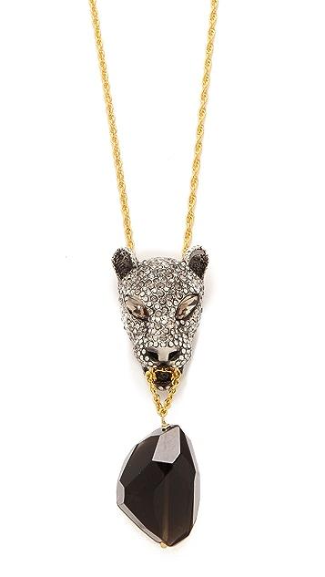 Alexis Bittar Cordova Jaguar Necklace