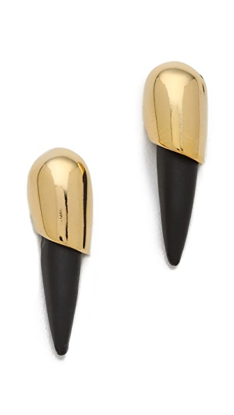 Alexis Bittar Small Snake Earrings