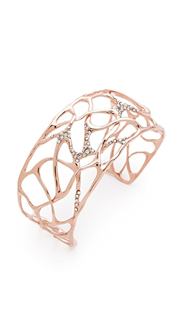 Alexis Bittar Small Pave Interlace Cuff