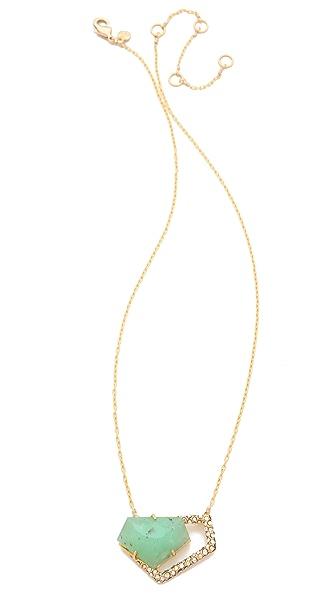 Alexis Bittar Chrysoprase Necklace