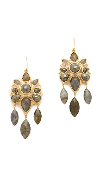 Alexis Bittar Mosaic Wire Earrings