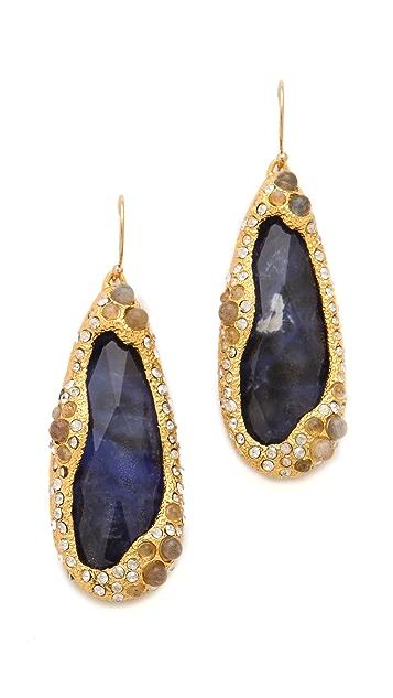 Alexis Bittar Sodalite Doublet Earrings