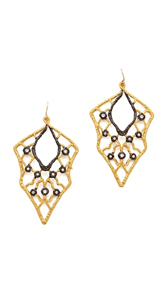 Alexis Bittar Lace Wire Earrings