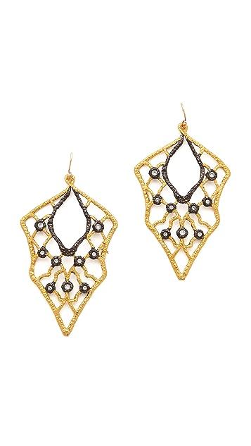 Alexis Bittar Lace Wire Earrings