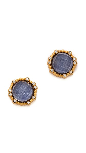 Alexis Bittar Round Sodalite Earrings