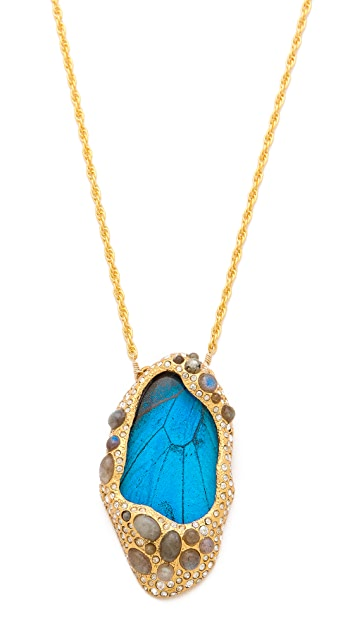 Alexis Bittar Small Butterfly Necklace