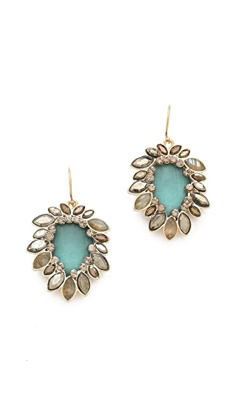Alexis Bittar Neo Bohemian Paisley Drop Earrings