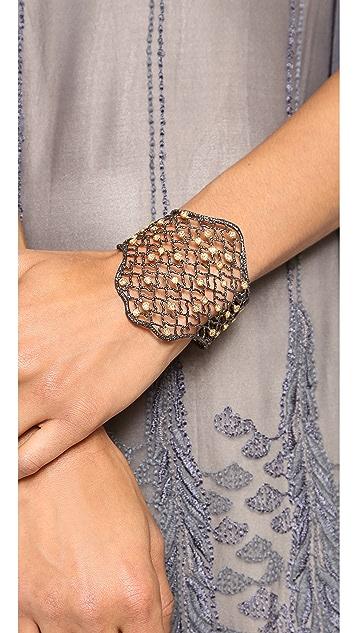 Alexis Bittar Large Lace Bracelet
