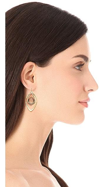 Alexis Bittar Orbiting Suspended Labradorite Earrings