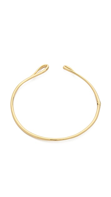 Alexis Bittar Hinged Infinity Collar Necklace