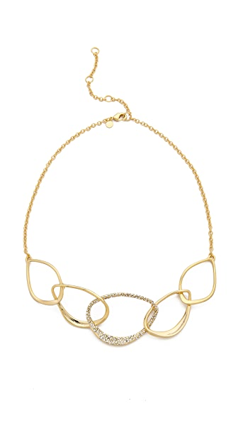 Alexis Bittar Five Link Orbiting Aura Necklace
