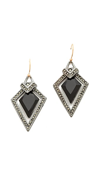 Alexis Bittar Santa Fe Deco Arrow Drop Earrings