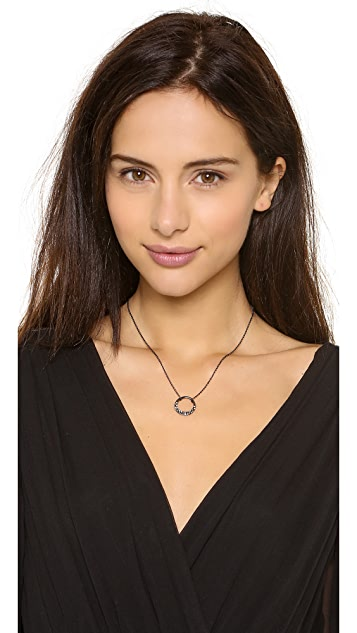 Alexis Bittar Small Aura Pave Necklace