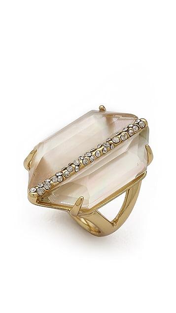 Alexis Bittar Mirrored Citrine Ring