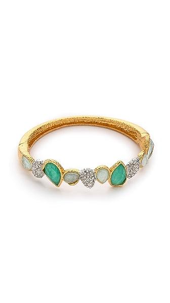 Alexis Bittar Stacking Hinge Stone Bracelet