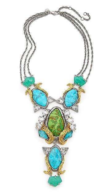 Alexis Bittar Olmeca Bib Necklace