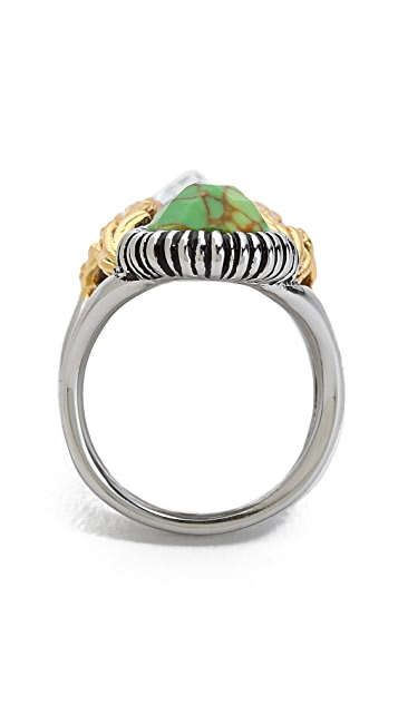 Alexis Bittar Elongated Olmeca Ring