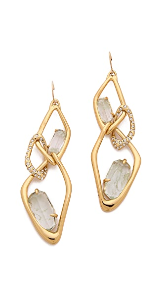 Alexis Bittar Infinity Cutout Link Earrings