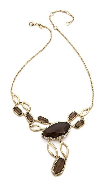 Alexis Bittar Multi Stone Y Link Necklace