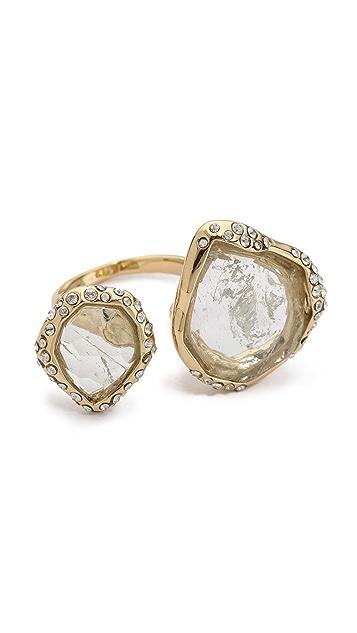 Alexis Bittar Multi Stone Cutout Ring