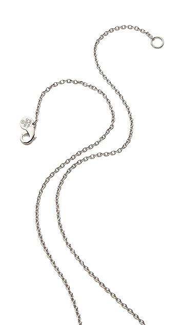 Alexis Bittar Asymmetrical Orbiting Pendant Necklace