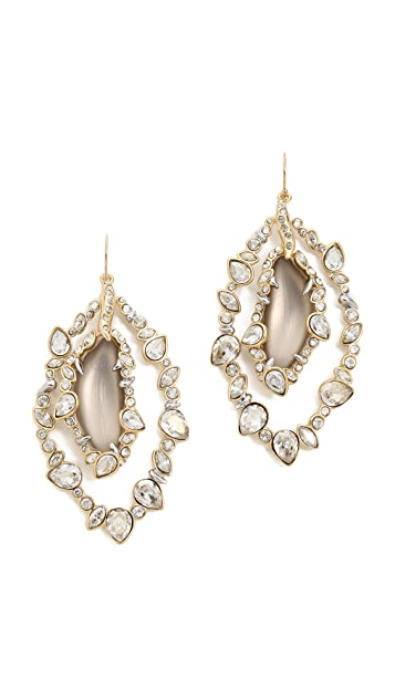 Alexis Bittar Crystal Framed Earrings