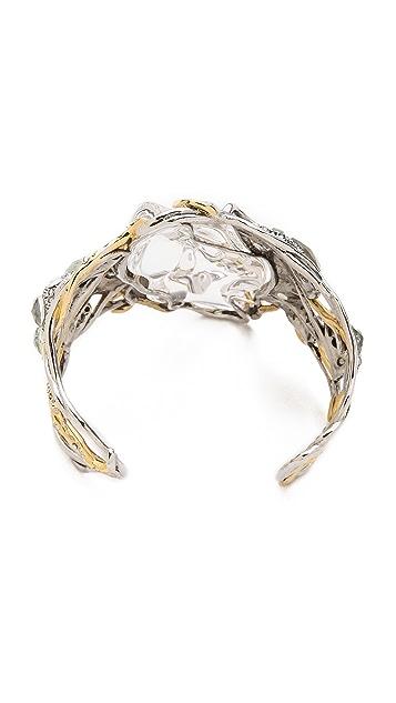Alexis Bittar Vine Draped Cuff Bracelet