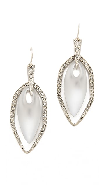Alexis Bittar Crystal Embellished Pave Orbital Earrings