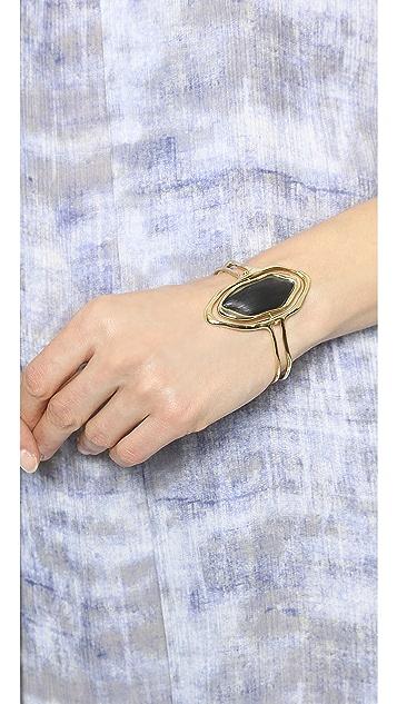 Alexis Bittar Liquid Metal Flipper Cuff Bracelet