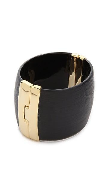 Alexis Bittar Liquid Metal Hinge Bracelet