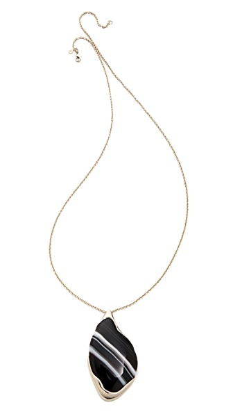 Alexis Bittar Infinity Pendant Necklace