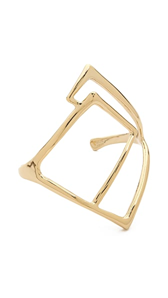 Alexis Bittar Geometric Cuff Bracelet