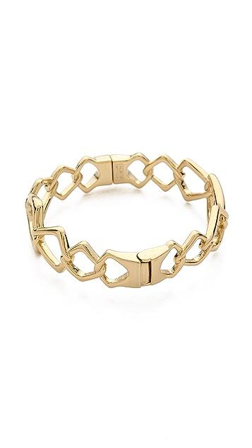 Alexis Bittar Fancy Linked Hinge Bracelet