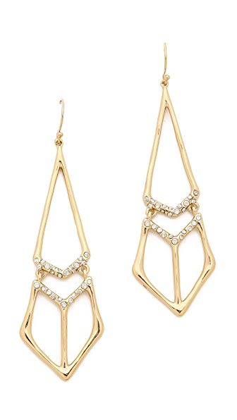Alexis Bittar Pointed Tear Earrings