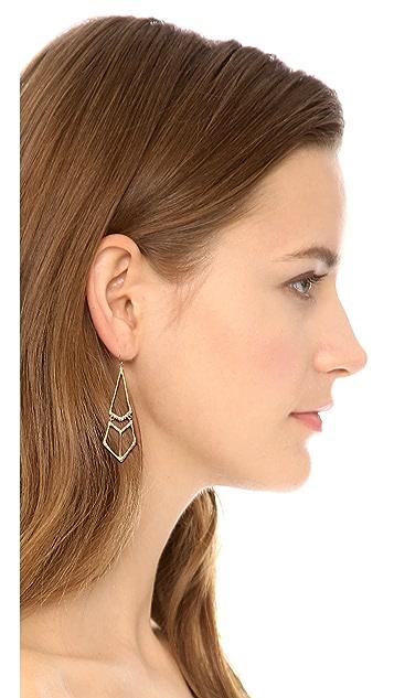 Alexis Bittar Pointed Tear Earrings