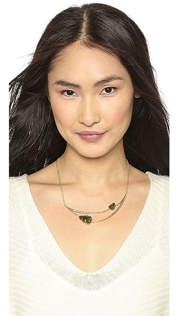 Alexis Bittar Draped Bib Necklace