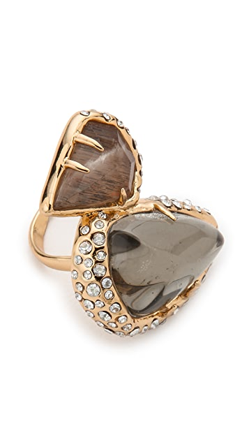 Alexis Bittar Stacked Coktail Ring