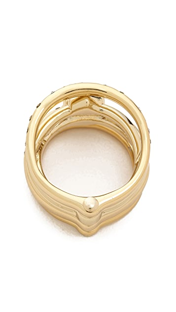Alexis Bittar Rotating Stack Ring