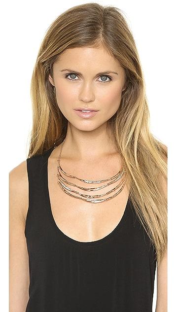 Alexis Bittar Tiered Artic Bib Necklace