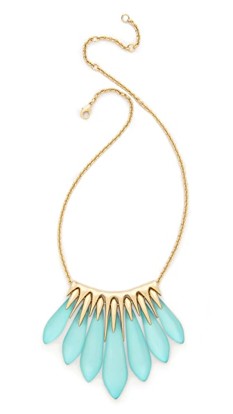 Alexis Bittar Articulated Spear Bib Necklace