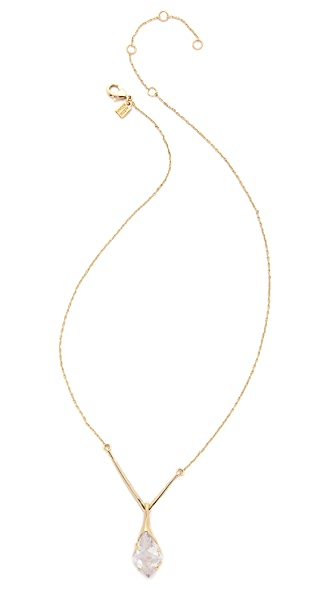 Alexis Bittar Y Drop Pendant Necklace