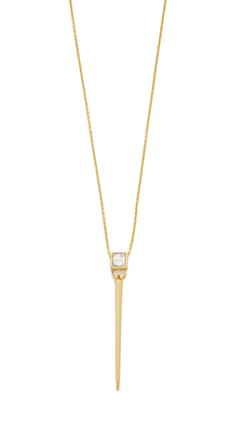 Alexis Bittar Square Spike Necklace