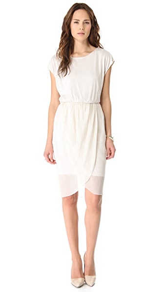 AIR by alice + olivia Tulip Draped Dress
