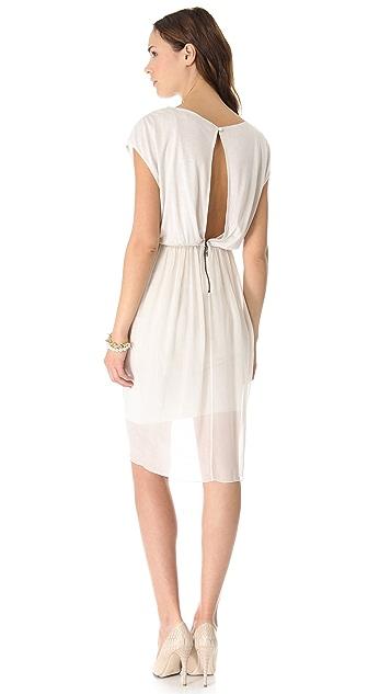 AIR by alice + olivia Tulip Draped Dress