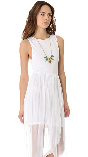 AIR by alice + olivia Boatneck Tulip Dress