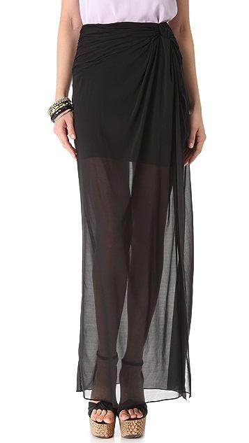 AIR by alice + olivia Sarong Overlay Skirt